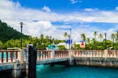 Phi-Phidon-Insel, Krabi Stockfotos