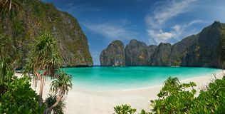 Phi-Phiinsel, Krabi-Provinz, Thailand Stockbild