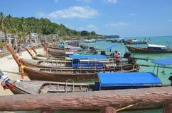 Phi-Phiinsel in Thailand Lizenzfreies Stockbild