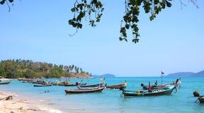 Phi-Phiinsel in Thailand Stockbilder