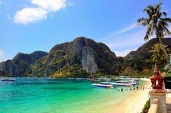 phi plażowy molo zdjęcia stock
