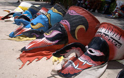 Phi TA Khon φεστιβάλ φαντασμάτων Στοκ Φωτογραφία