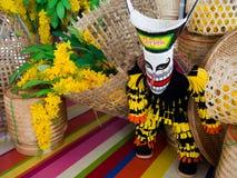 phi ta khon Маска призрака провинции Loei, Таиланда стоковое фото