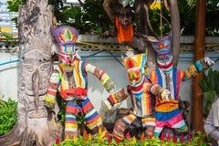 Phi Ta Khon Stock Afbeeldingen
