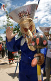 Phi Ta Khon ducha festiwal Zdjęcia Stock