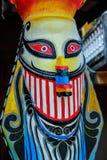 Phi Ta Khon-Festival in Thailand Stockbilder