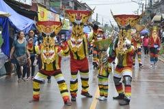 Phi ta khon festival 2016 Stock Photo