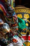 Phi Ta Khon Mask en Phi Ta Khon Festival Fotografía de archivo libre de regalías