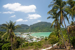 Phi van Ko phi eiland in Thailand stock foto's