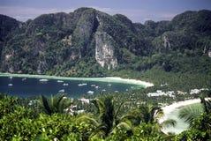 Phi van Ko Phi trekt, Thailand aan Royalty-vrije Stock Afbeelding