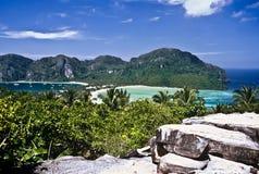 Phi van Ko Phi trekt, Thailand aan royalty-vrije stock foto