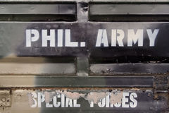 Phil army special forces Stock Image