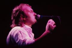 Phil Collins Entertainer. Phil Collins former singer/drummer for band Genesis. (image taken from color slide Stock Image