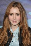 Lily Collins Royalty Free Stock Photography