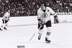 Phil Esposito Boston Bruins Foto de Stock Royalty Free