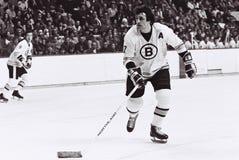 Phil Esposito Boston Bruins. Boston Bruins legend Phil Esposito #7 Royalty Free Stock Photo
