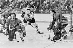 Phil Esposito Boston Bruins Royalty-vrije Stock Foto's