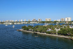 Phil Foster Park. In Riviera Beach, Florida, near Singer Island Stock Photo