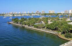 Phil Foster Park. In Riviera Beach, Florida, near Singer Island Royalty Free Stock Photography