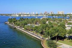 Phil Foster Park. In Riviera Beach, Florida, near Singer Island Royalty Free Stock Photos