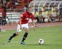 Phil Jones of Man Utd. Royalty Free Stock Photography