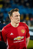 Phil Jones in match stock photos