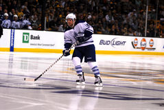 Phil Kessel Toronto Mapleleaf. Phil Kessel comes back to Boston to face his old team Stock Images