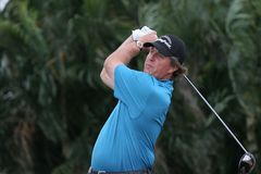Phil Mickelson doral 2007 Stock Image