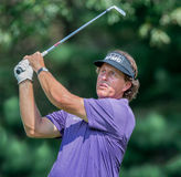 Phil Mickelson no Barclays 2012 Foto de Stock Royalty Free
