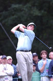 Phil Mickelson. Professional Golf star Phil Mickelson.  Image taken from color slide Stock Photography