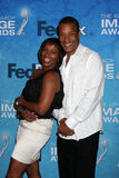 Phil Morris,Vanessa Bell Calloway Royalty Free Stock Photos