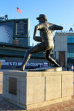 Phil Niekro Statue. Atlanta Braves legend Phil Niekro`s statue in Turner Field Royalty Free Stock Photo