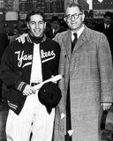 Phil Rizzuto New York Yankees. New York Yankees Hall of Fame SS Phil Rizzuto (Image taken from B&W negative Stock Images