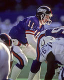 Phil Simms. New York Giants QB Phil Simms, #11. (Image taken from color slide Stock Photography
