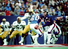 Phil Simms Nueva York Giants Foto de archivo