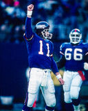 Phil Simms NY Giants. Former NY Giants QB Phil Simms (Image taken from color slide Royalty Free Stock Image