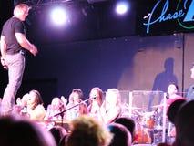 Phil Vassar, Lynchburg, Virginia.  Miller Home Benefit Concert at Phase 2, April 2013. Phil Vassar performs in his hometown of Lynchburg, Virginia.  The venue Stock Image