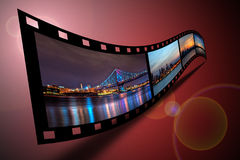 Philadelphfia Filmstrip Foto de Stock Royalty Free