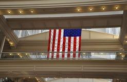 Philadelphfia, o 4 de agosto: Interior da alameda da bolsa da construção histórica de Philadelphfia em Pensilvânia fotos de stock royalty free