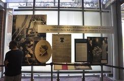 Philadelphfia, o 4 de agosto: Interior nacional do centro da constituição de Philadelphfia em Pensilvânia Imagens de Stock