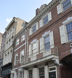Philadelphfia, o 4 de agosto: Primeira estação de correios do Estados Unidos em Philadelphfia de Pensilvânia Imagem de Stock