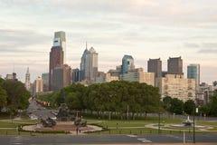 Philadelphfia ocupada Foto de Stock Royalty Free