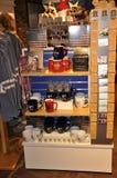 Philadelphfia, PA, o 3 de julho: Betsy Ross House Souvenirs Shop de Philadelphfia em Pensilvânia EUA Imagens de Stock Royalty Free