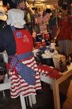 Philadelphfia, PA, o 3 de julho: Betsy Ross House Souvenirs Shop de Philadelphfia em Pensilvânia EUA Imagem de Stock Royalty Free