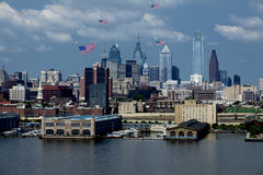 Philadelphfia, Pensilvânia - dia de bandeira 2015 Imagem de Stock