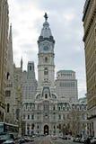здание муниципалитет philadelphia стоковая фотография