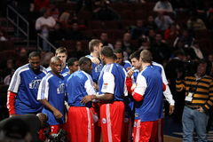 Philadelphia 76ers Royalty Free Stock Photo