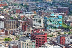 Philadelphia aerial view Royalty Free Stock Photos