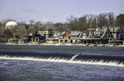 Philadelphia any time - view at the Boathouse Royalty Free Stock Photography