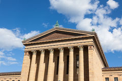 Philadelphia art museum entrance - Pennsylvania - USA Royalty Free Stock Photos